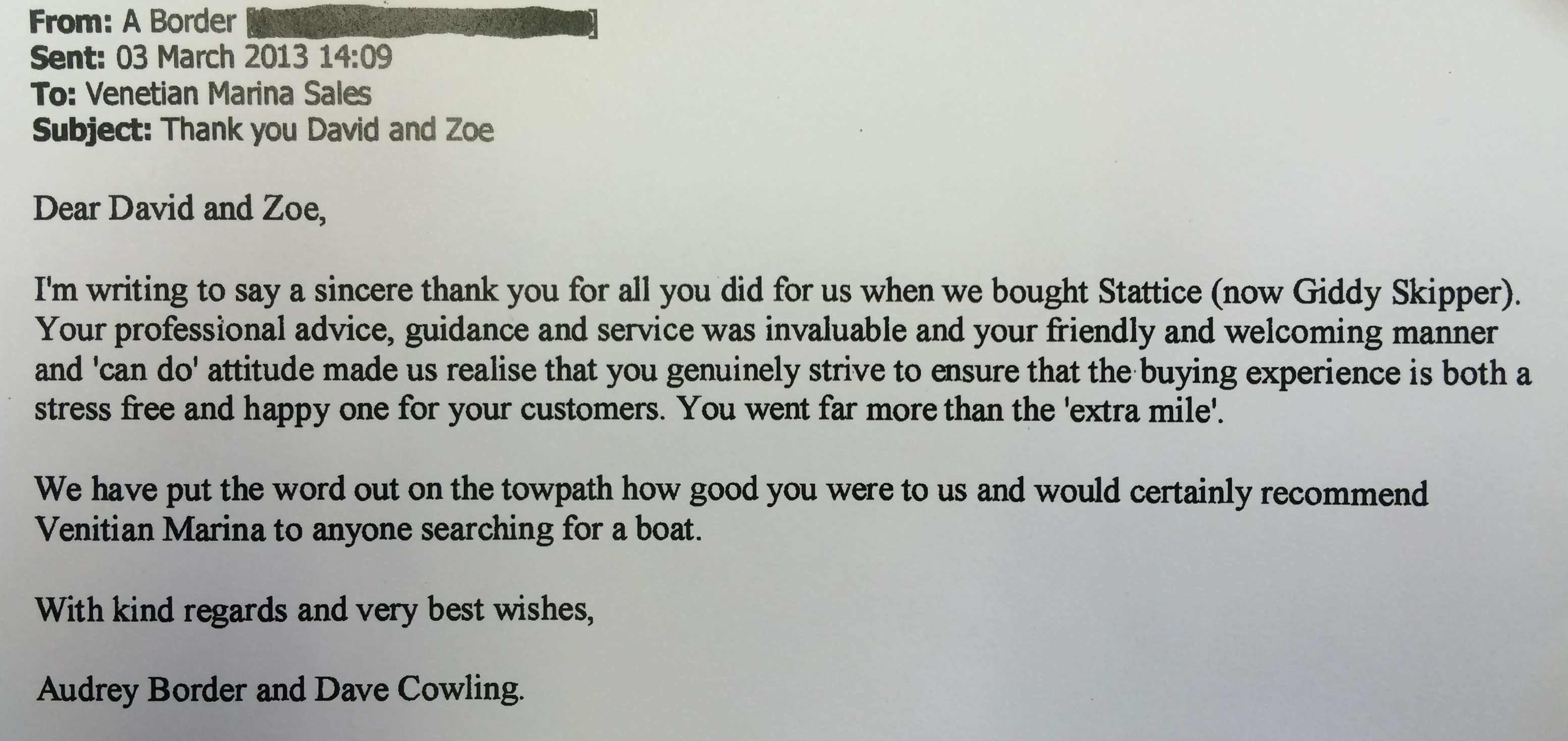 customer-feedback-from-buyers-of-narrowboat-statice