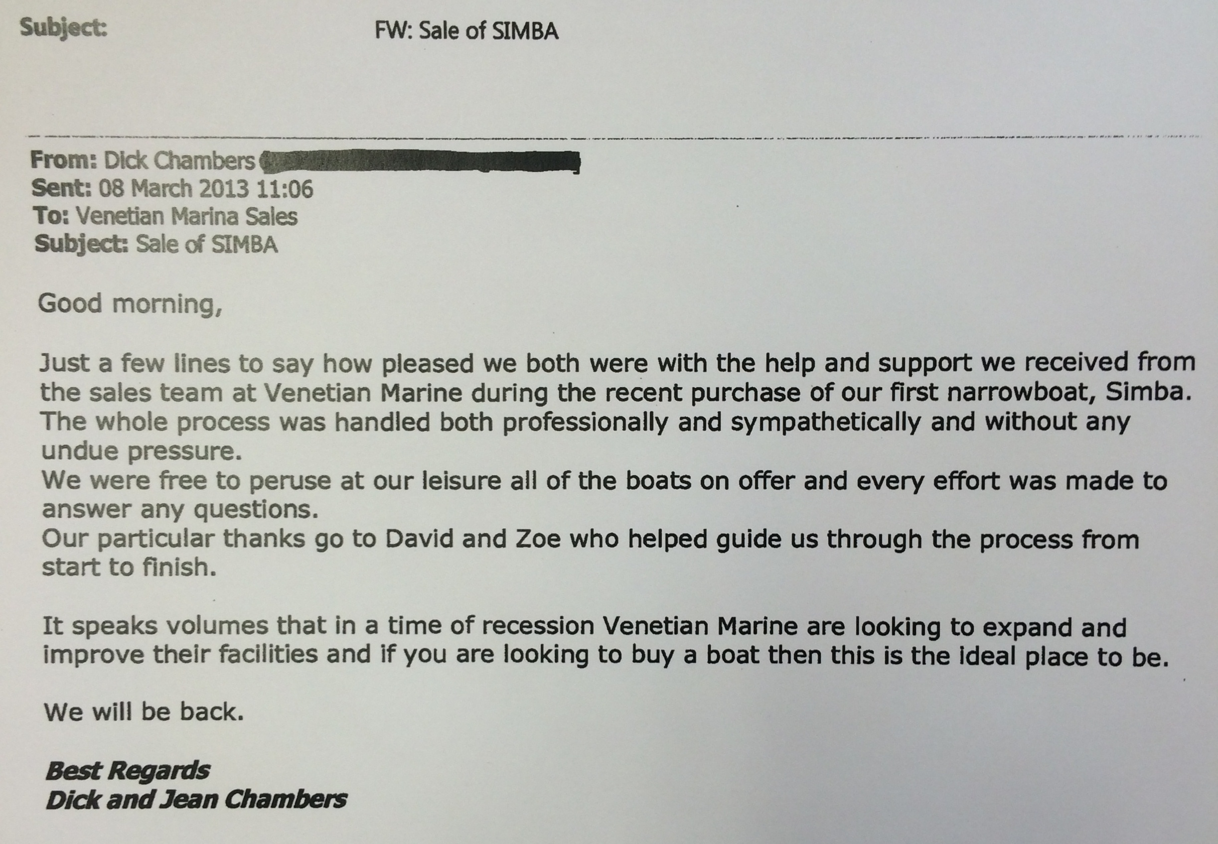 customer-feedback-from-buyers-of-narrowboat-simba