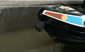 Narrowboat in the Dry Docks at Venetian Marina - Part 2